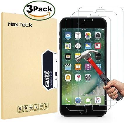 Protección De Pantalla Templado para iPhone 7 Vidrio Templado Protector de Pantalla LCD Reino Unido Stock