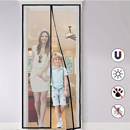 NASUM Rideau Magn/étique Moustiquaire pour porte de balcon//porte patio