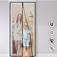 Cortina Mosquitera Magnética para Puertas, Anti Insectos Moscas