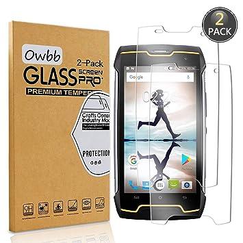 Owbb® Vidrio Templado Protector Pantalla para Smartphone 99% High ...