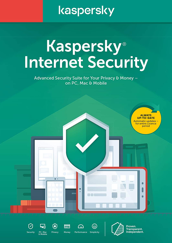 Kaspersky Lab Internet Security 2020 1 licence(s) 1 année(s) Néerlandais
