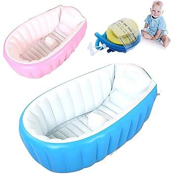 Suyi Inflatable Baby Bathing Tubs and Seats Portable Bathtub Kid ...