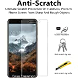 Tempered Glass Screen Guard for Nokia 6.1 (2018),Case Creation TM Latest Ultra thin Transparent Flexible Screen protection Slim Tempered Glass For Nokia 6.1 (2018) / New Nokia 6.1 (2018) / Nokia 6 2018