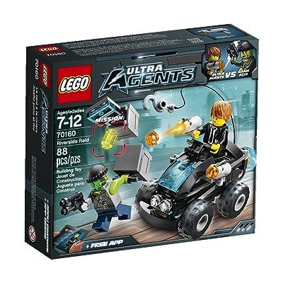 LEGO, Ultra Agents, Riverside Raid (70160): Toys & Games