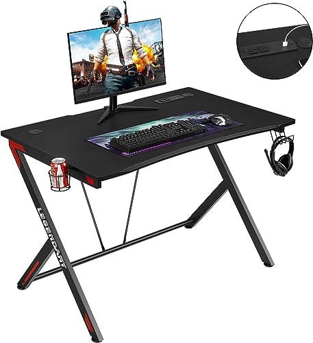 Gaming Desk 45.3″ Modern Office Desk