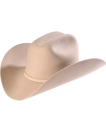 6d49bbd35bc7f Los Tigres Del Norte Men s Larry Mahan 3X Silverbelly Fur Felt Cowboy Hat -  MF 0365Plebe-115 Slvrblly at Amazon Men s Clothing store