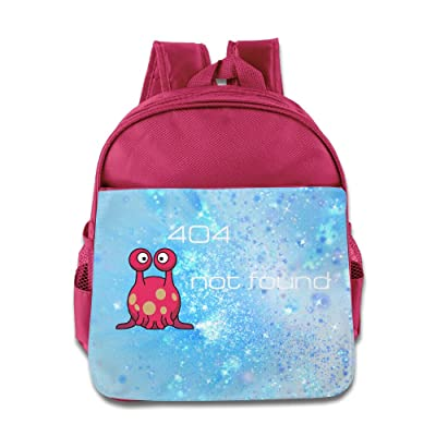 Image: Kids 404 Not Found Backpack School Bag | High Quality Backpack