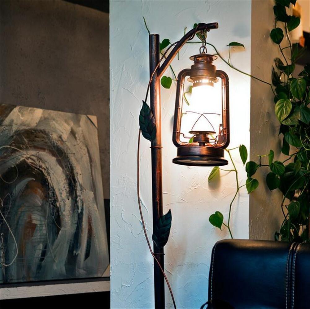 Lámpara de pie - Lámpara de Piso Antigua Dormitorio Sala de ...