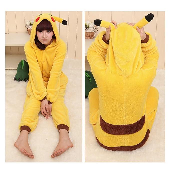 Freefisher pijama con dibujo de animal Pikachu L(height:5.6-5.9ft): Amazon.es: Deportes y aire libre