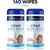'Care Touch CPAP Cleaning Mask Wipes - Unscented, Lint Free - 70 Wipes, Pack of 2 - 140 Wipes Total' from the web at 'https://images-na.ssl-images-amazon.com/images/I/71J5ecBB7cL._AC_UL160_SR160,160_.jpg'