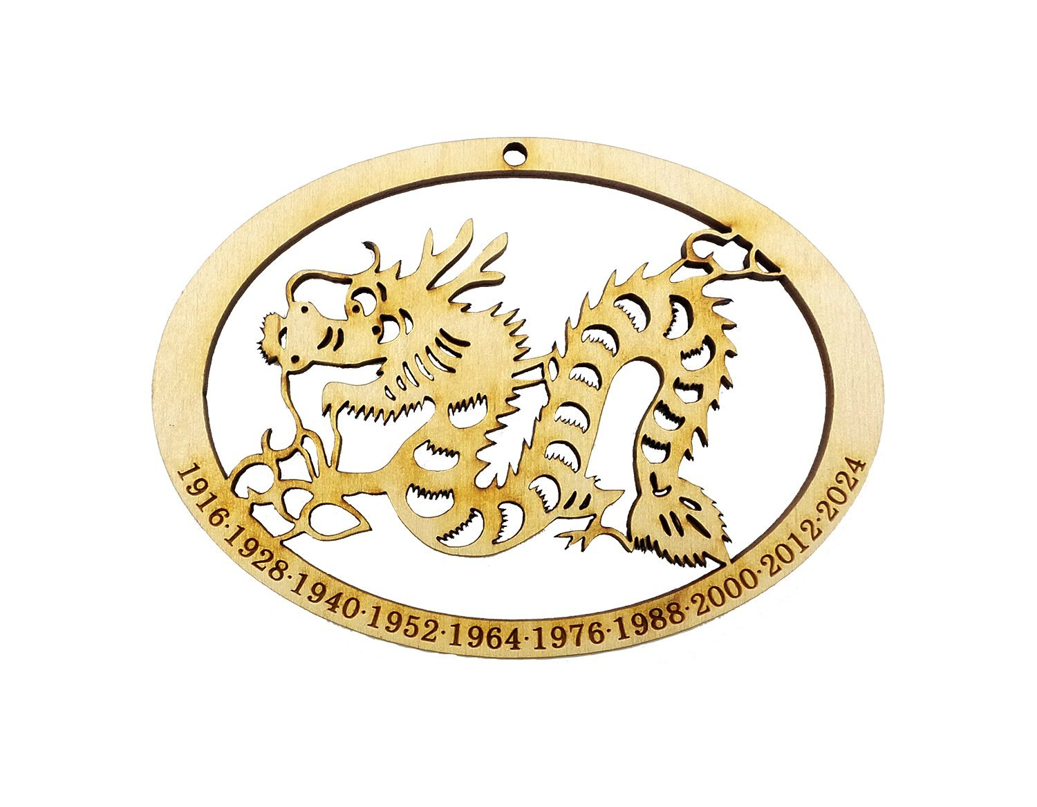 Chinese Zodiac Dragon Ornament - Year of the Dragon Ornament