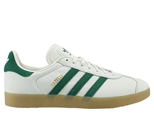 adidas gazelle white green
