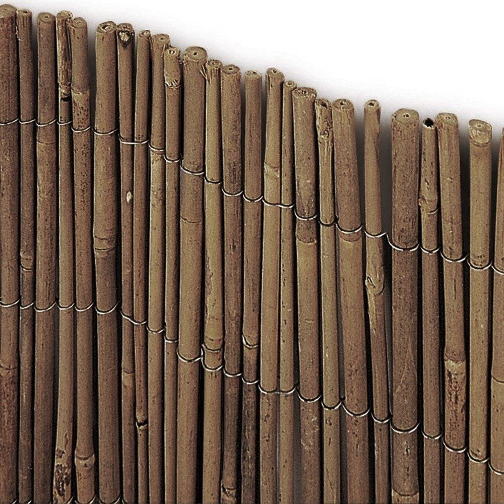 Arella stuoia cannette bamboo 3x1,5mt bamb/ù intera rilegate recinzioni TIME 716