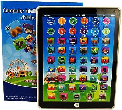 Tableta Para Bebé Juguetes Educativos 1 2 años De Edad Actividad Niños Aprenden