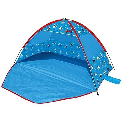 YELLO Unisexe voiliers UPF 40+ Tente de plage, Bleu, 2.1m