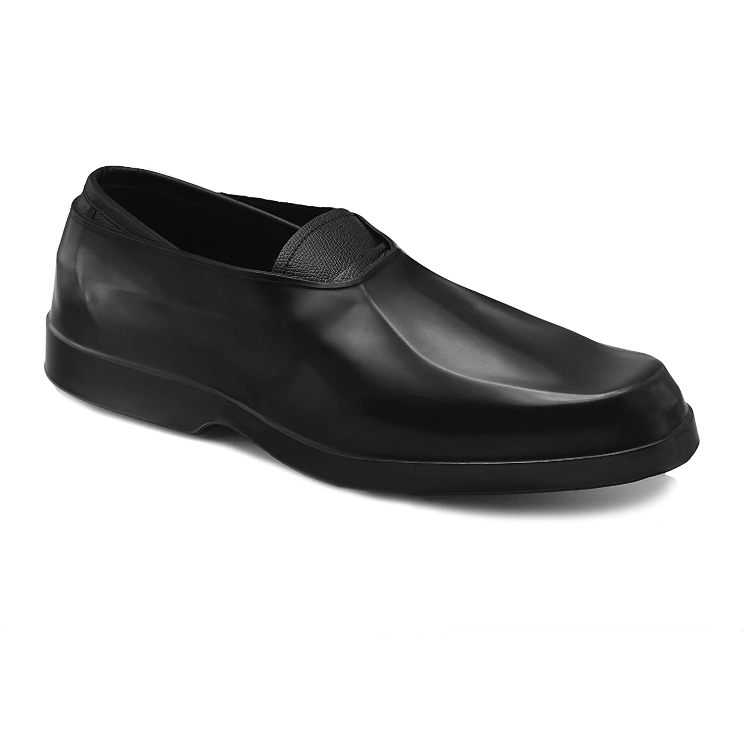 afaa6ab62858ad Amazon.com  ArcticRubber™ Mens Rubber overshoe Waterproof Galoshes for  Dress shoes (Black)  Home Improvement