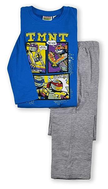 Nickelodeon - Pijama dos piezas - Manga Larga - para niño azul azul 4 años
