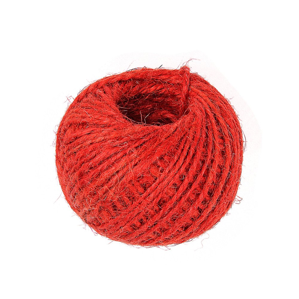 30 Metre Jute Twine (Red) Bonkeno LTD