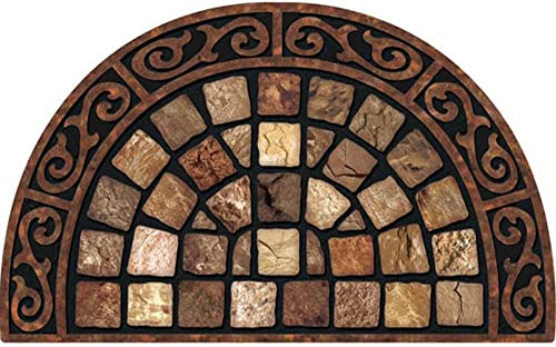 Masterpiece Roman Road Doormat, 22-Inch by 36-Inch