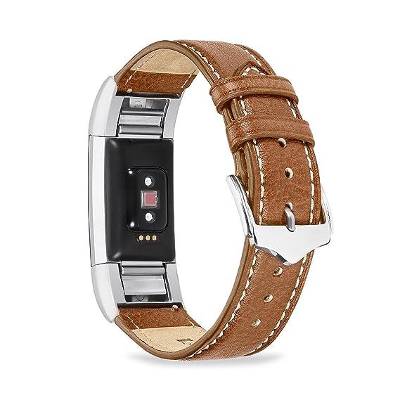 Amazon com: Fitbit Charge 2 Band, Benuo [Vintage Series] Premium