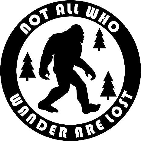 Bigfoot Vinyl Decal