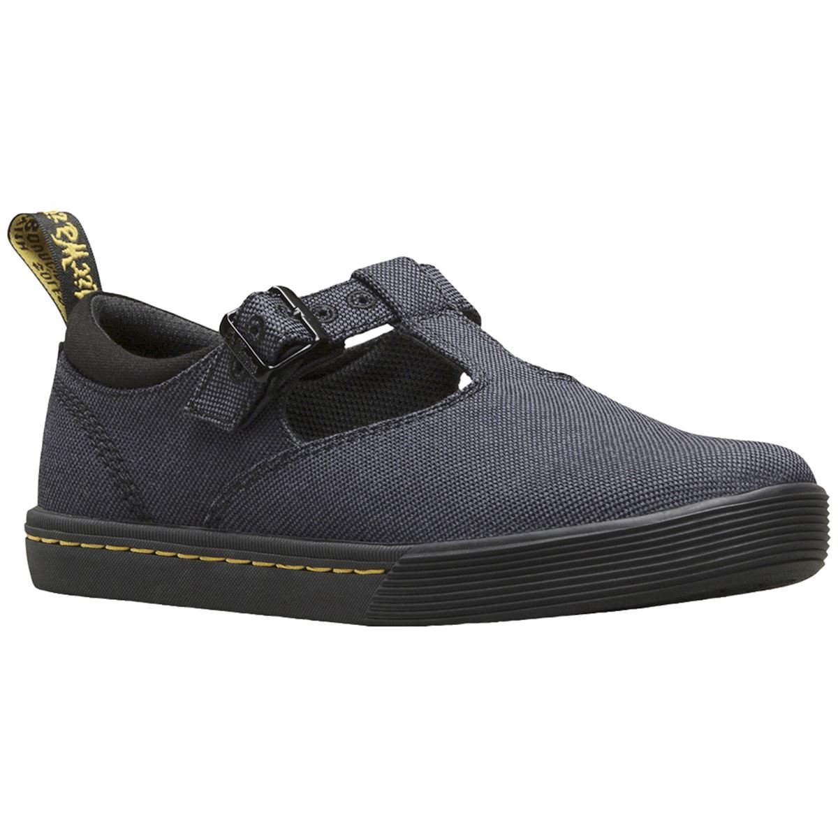 Dr. Martens Womens Winona Black Canvas Shoes 40 EU