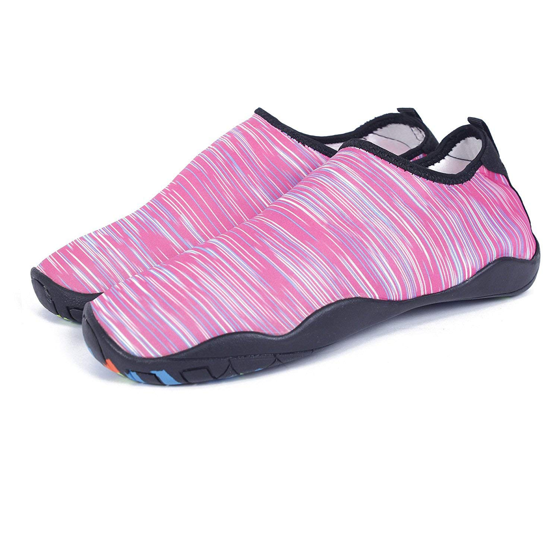 KEALUX Männer Frauen Barfuß Quick-Dry Wassersport Schuhe Multifunktionale Turnschuhe mit Drainage Löcher für Schwimmen, Walking, Yoga, See, Strand, Garten, Park, Fahren, Bootfahren