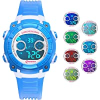 Reloj Digital para Niños Niñas, Reloj Infantil Deportivo