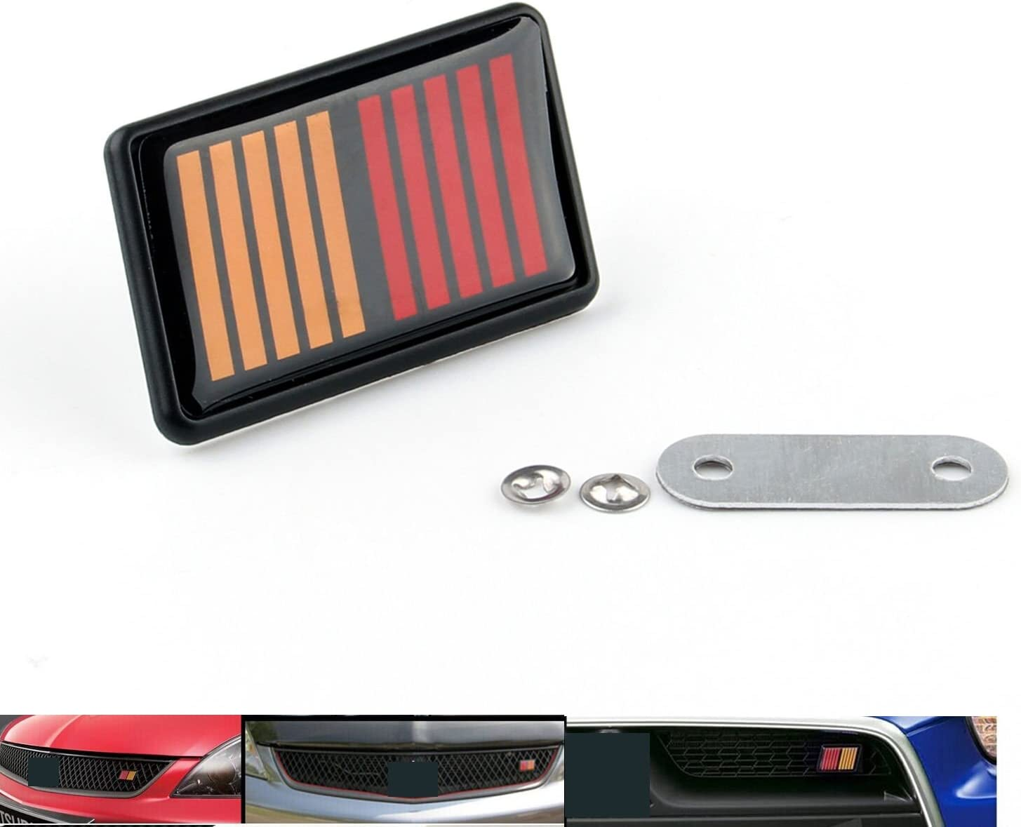 Mitsubishi EVO RS Rally Sport Front Grille Badge