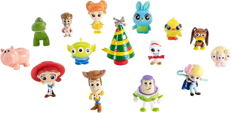 Disney Toy Story GKT88 Pixar 4 Film Adventskalender, mehrfarbig