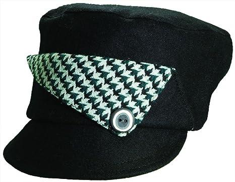 a4e025c32a8 Image Unavailable. Image not available for. Color  Callanan Dorfman Pacific  - John Button Down Cadet Hat - Black