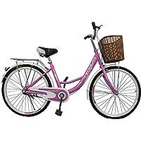 Vlra 24inch Lady City Bike, Pink