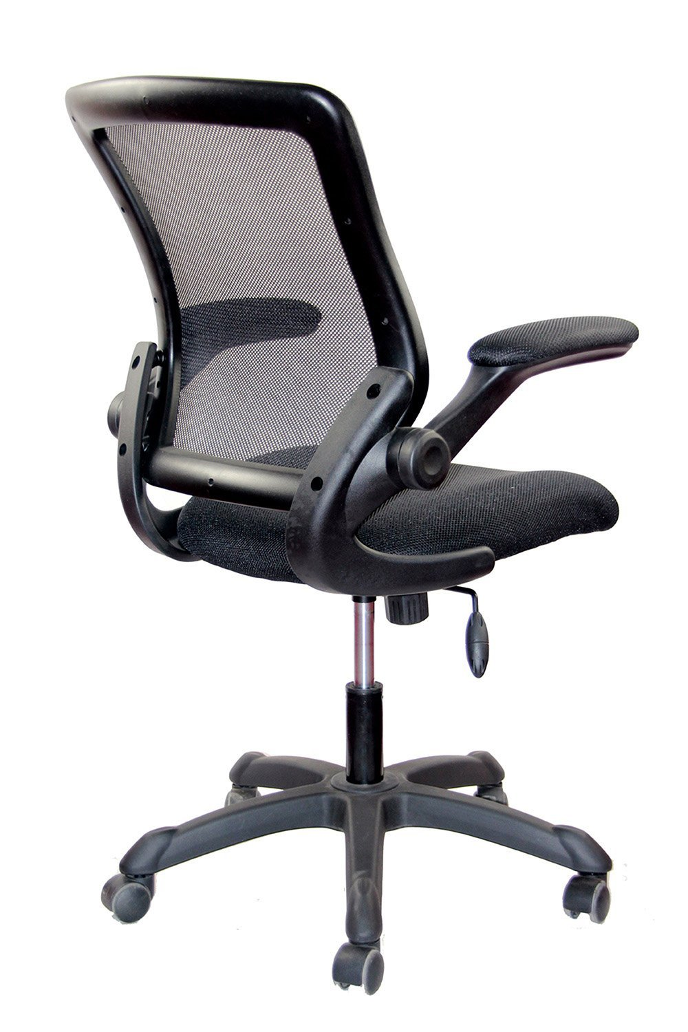 Merveilleux Amazon.com: Mesh Task Office Chair With Flip Up Arms. Color: Black: Kitchen  U0026 Dining
