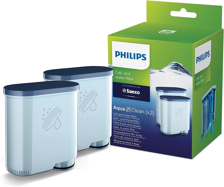 Philips CA6903/22 pieza y accesorio para cafetera Filtro de agua - Filtro de café (Filtro de agua, De plástico, Suiza, 2 pieza(s)): Amazon.es: Hogar
