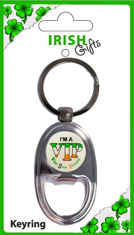 おすすめネット Irish Traditional Bottle V.I.P Opener Very Oblong Keyring Person Irish V.I.P Very Irish Person Souvenir Gift B00831V6KQ, BLANC LAPIN [ブランラパン]:abc74ffd --- yelica.com