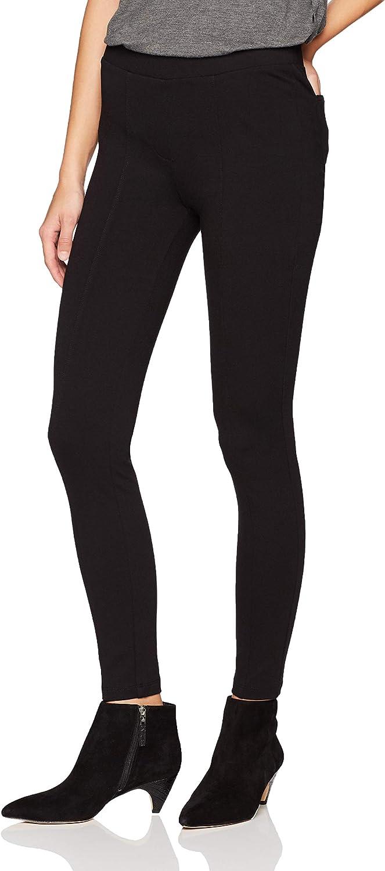 Amazon Brand - Daily Ritual Women's Seamed Front, 2-Pocket Ponte Knit Legging