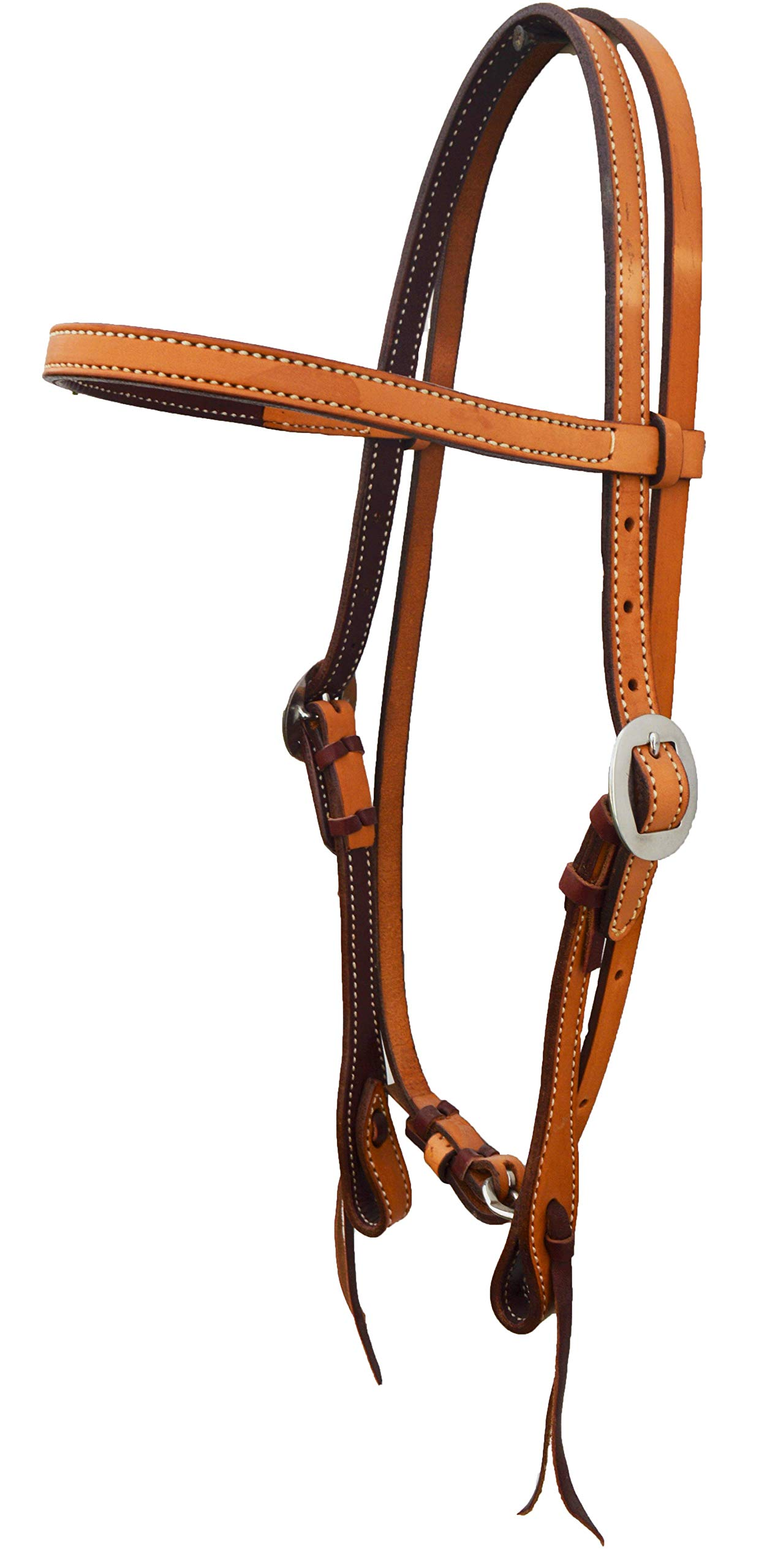 Alamo Saddlery LLC Rancher Supply- 'Elite Straight Brow Headstall'