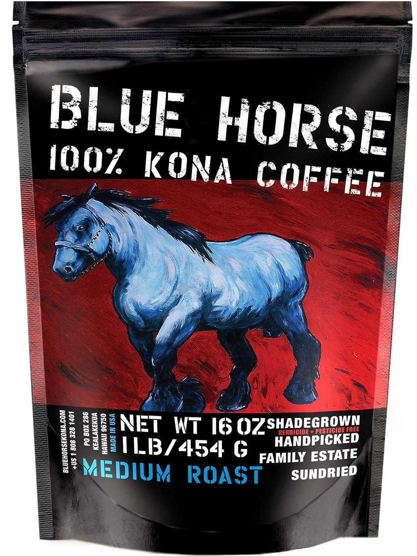 Blue Horse 100% Kona Coffee Review