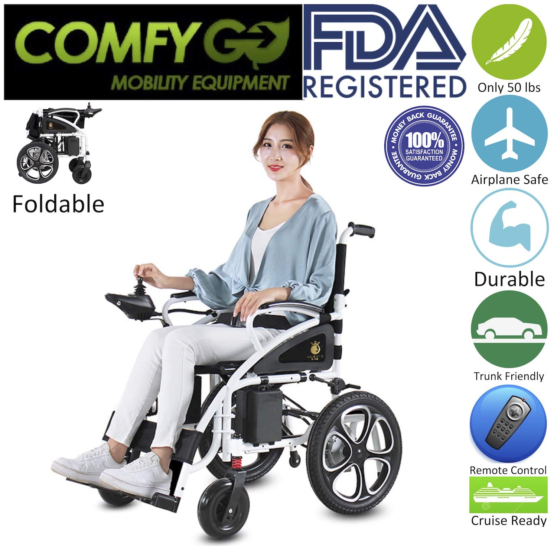 2019 New Majestic Buvan Electric Wheelchairs Silla de Ruedas Electrica para Adultos FDA...