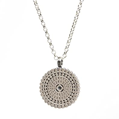 Dogeared Women Silver Necklace of Length 45.72cm VS0705-IN