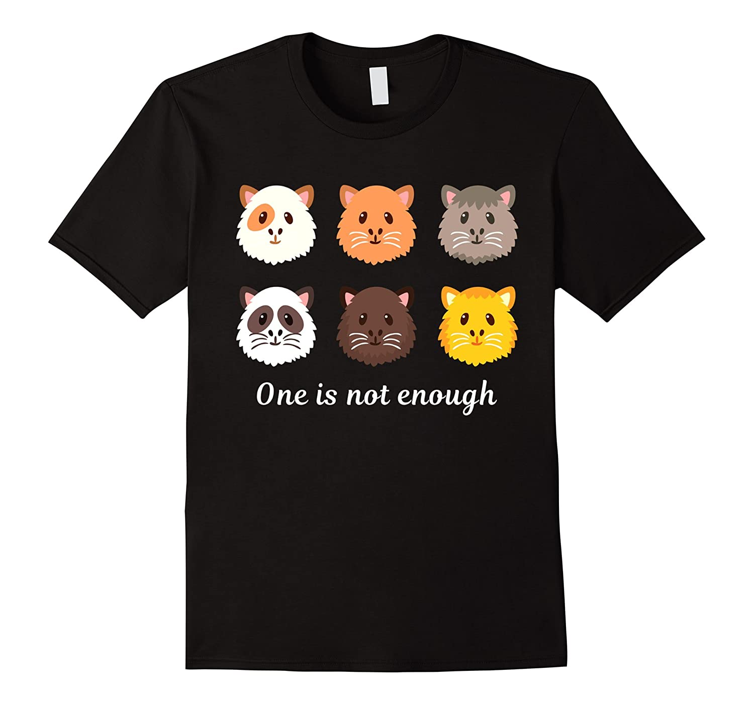 Guinea Pig Shirt: One Is Not Enough Funny Gift T-Shirt