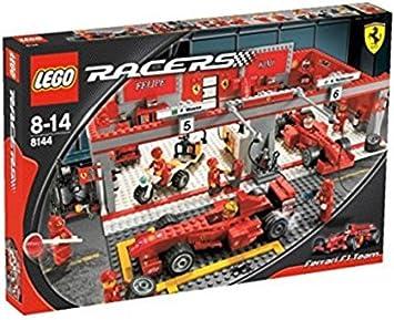 Lego Racers 8144 Ferrari 248 F1 Team Amazon De Spielzeug
