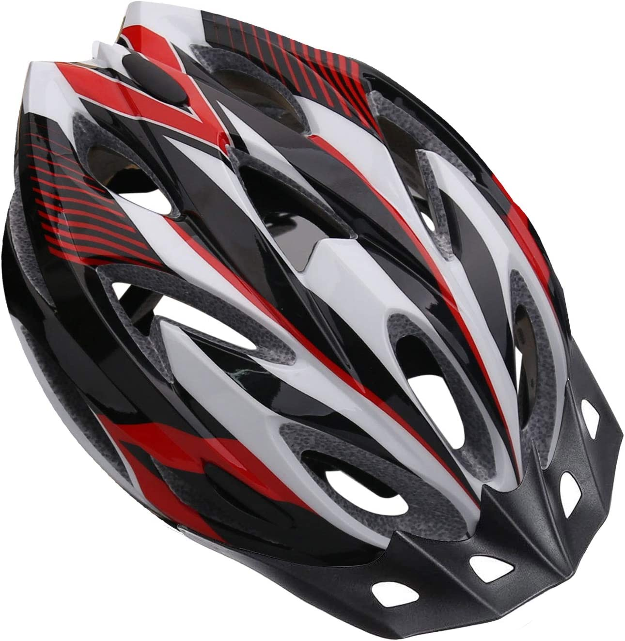 Shinmax Bike Helmet, Cpsc & Ce Safety Certified Bicycle Helmet for Men/Women with Detachable Sun Visor Lightweight Cycling Helmet Adjustable Size for Adult Mountain Road