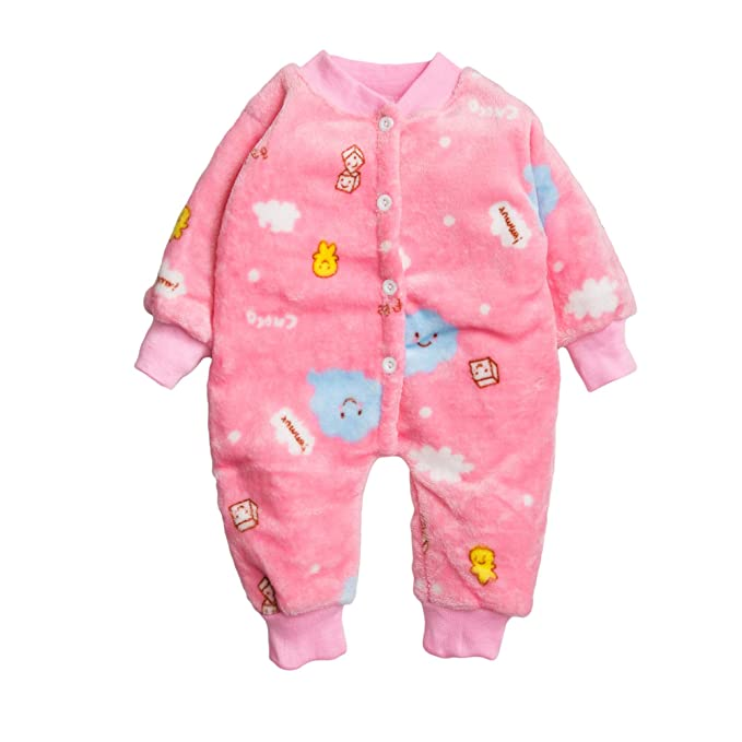 495152b8c6c5 Kidofash Premium Quality Animal Printed Soft Cotton Fleece Sleepsuit ...