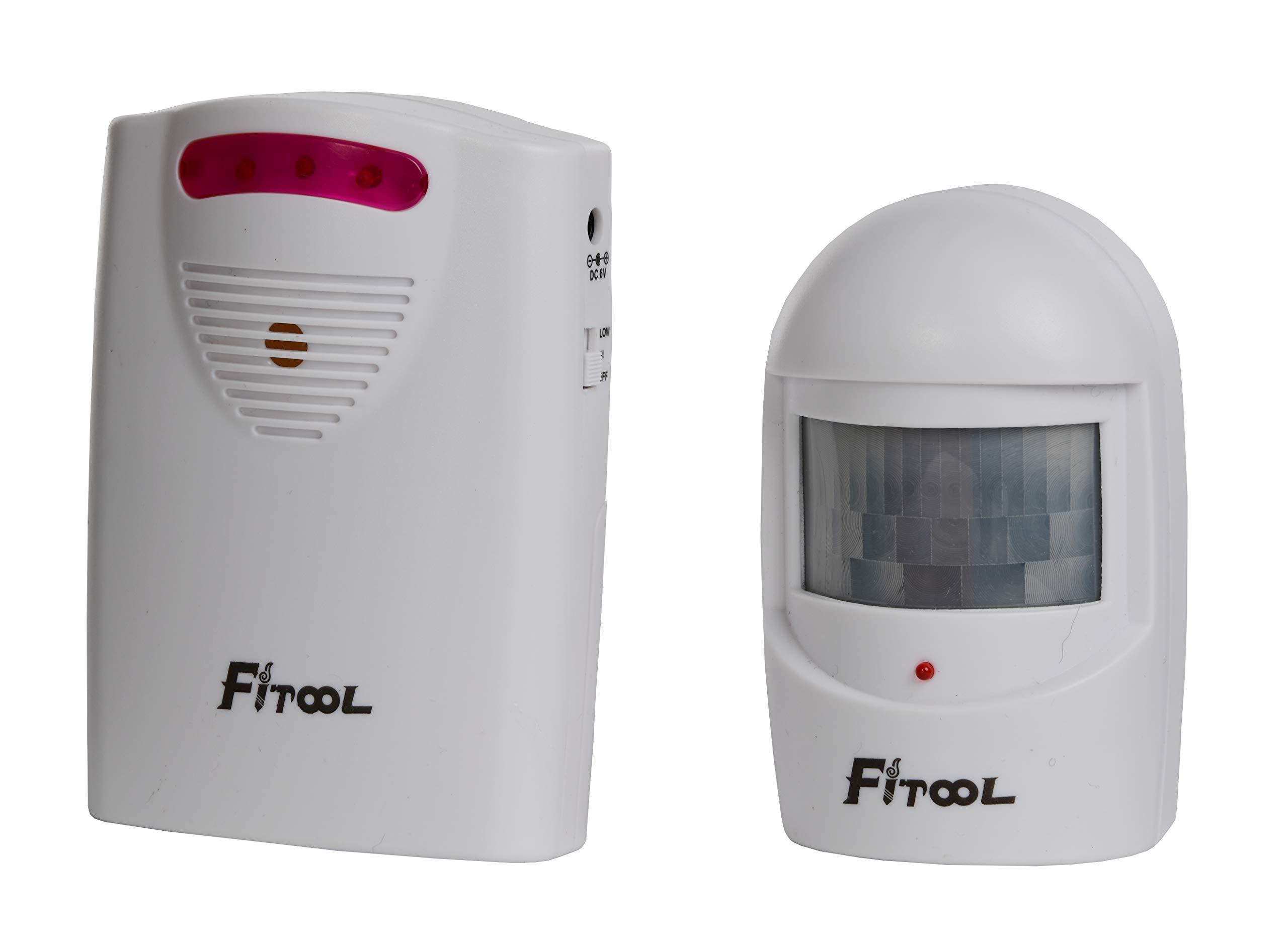 Wireless Driveway Alarm,Home Security Alarm,PIR Motion Sensor Alert System by FITOOL