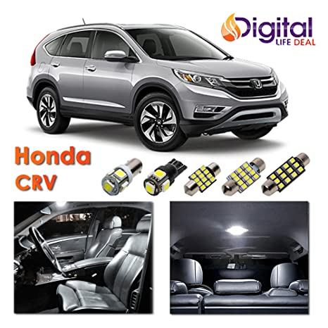 Vida Digital Deal – interior blanco LED luces paquete kit para 2013 – 2017 Honda CRV