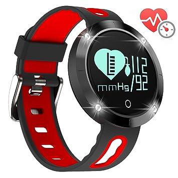 Reloj de ritmo cardiaco Arvin, brazalete rastreador de ejercicio, monitor de presión