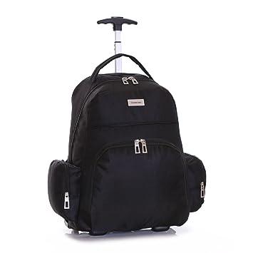 Slimbridge Morley mochila con ruedas para portátil, Negro: Amazon.es: Equipaje