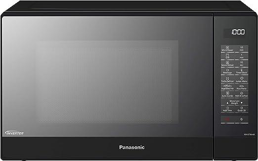 Panasonic NN-GT46K - Microondas con Grill (1000W, 31L, 7 niveles ...