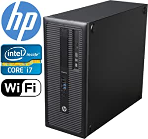 HP EliteDesk 800 G1 Tower, i7 4770 upto 3.9GHz, 1TB HDD 8GB DDR3 Ram, 2GB Nvidia GeForce GTX 1050 4K HDMI 3 Monitor Support Windows 10 Pro 64-bit (Certified Refurbished)